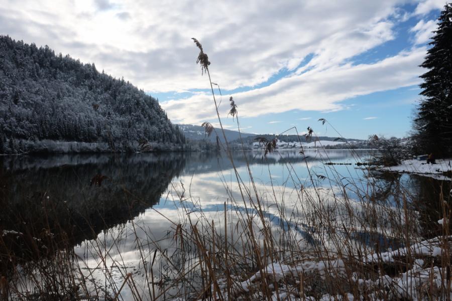 Suisse : VIDEO Lac Brenet