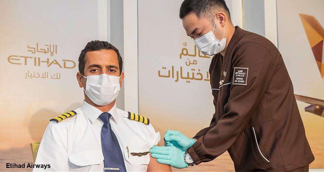 Les compagnies aériennes vaccinent