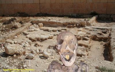Egypte : des momies à langue d'or !