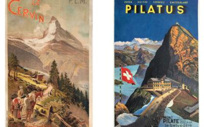 Suisse: l'affiche touristique, objet d'art