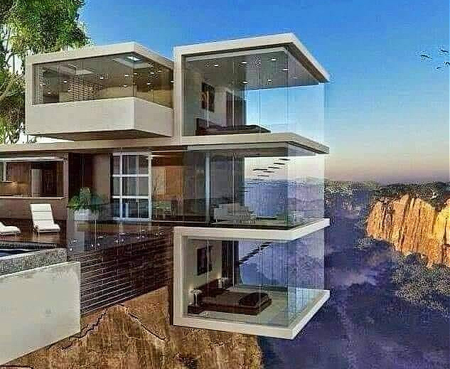 Villas de vacances : architecture en folie