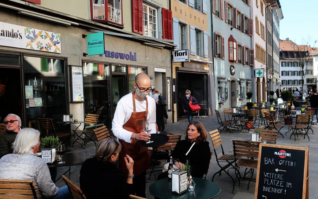 Suisse : dans le bain de Baden