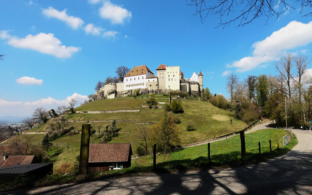 Suisse : château de Lenzbourg (Argovie)