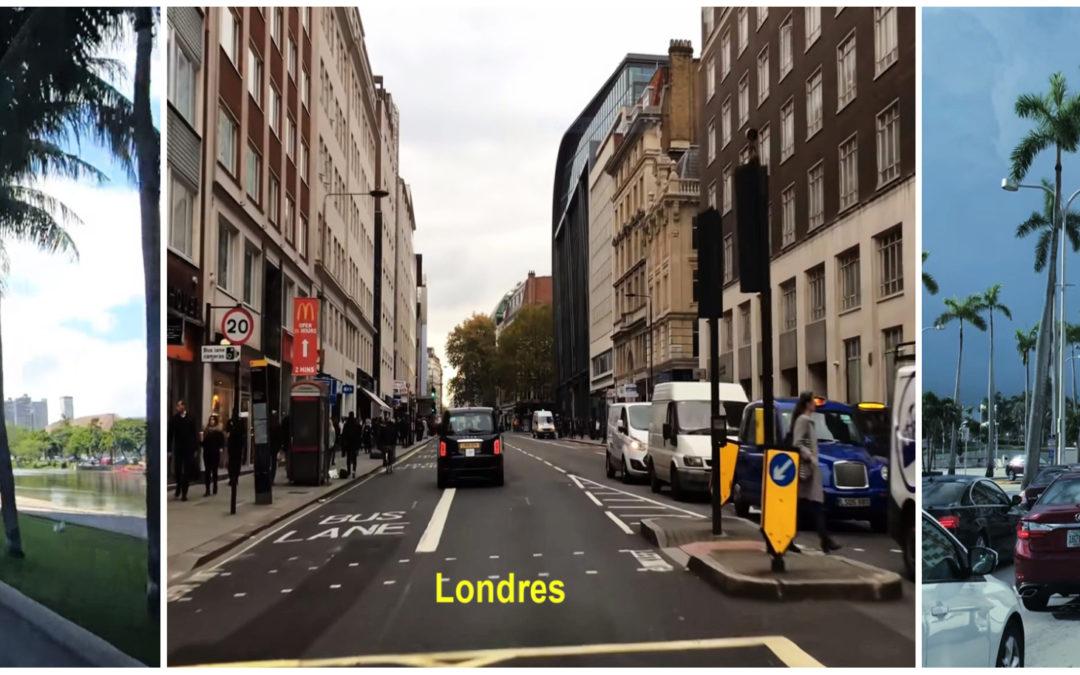 Virtuel : rouler dans les villes du monde