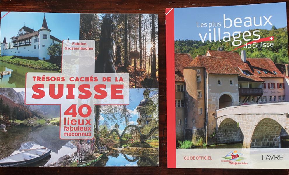 Suisse : deux guides de vacances