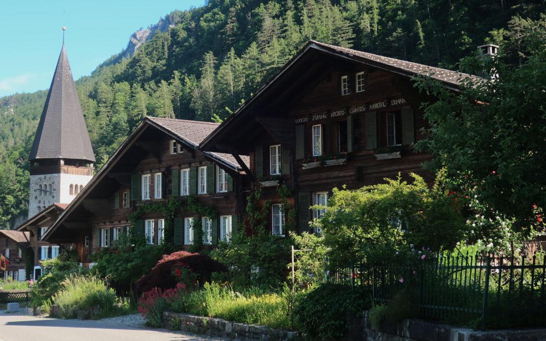 Suisse : à Meiringen, familles bienvenues