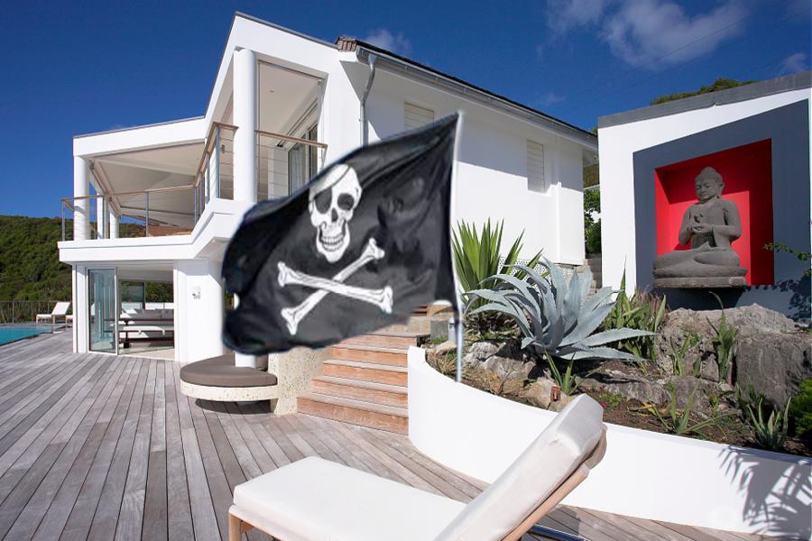 Locations de vacances: gare aux pirates !
