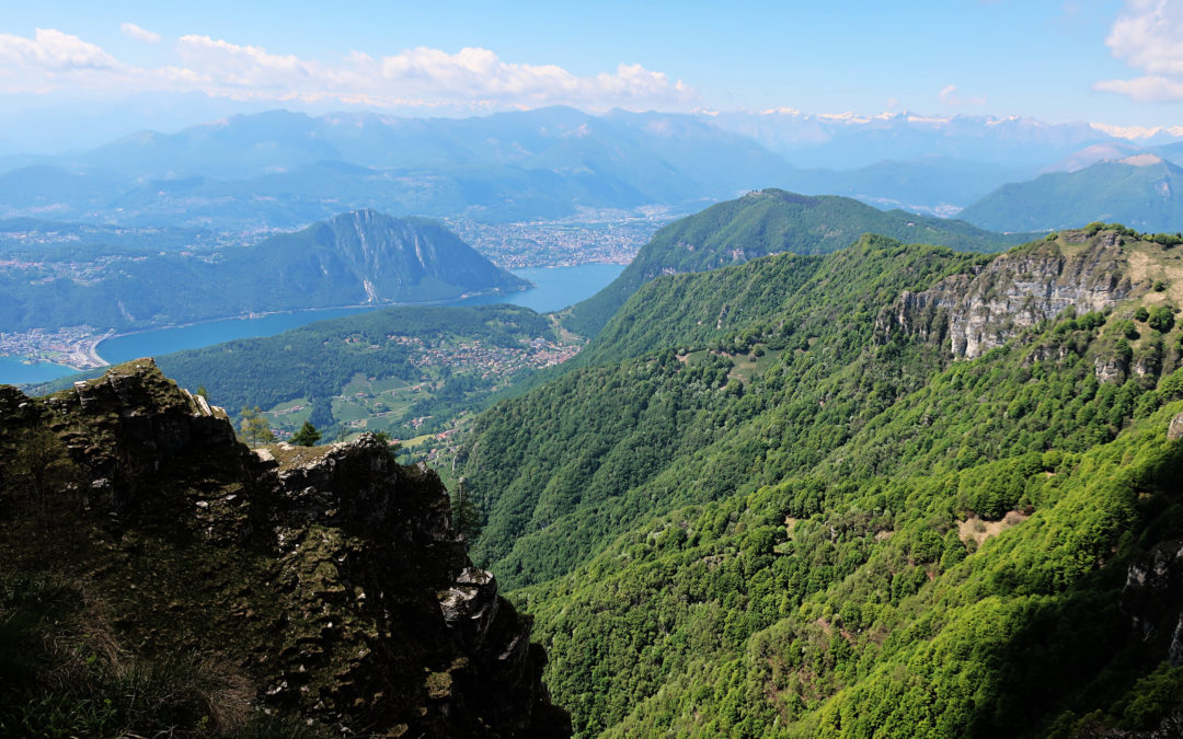 Suisse : Monte Generoso (Tessin)