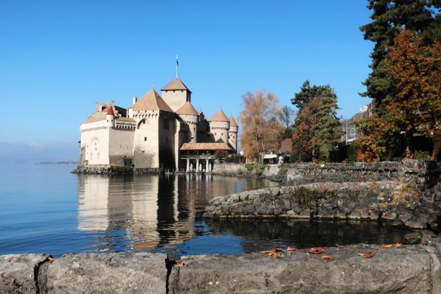 Suisse : le château de Chillon