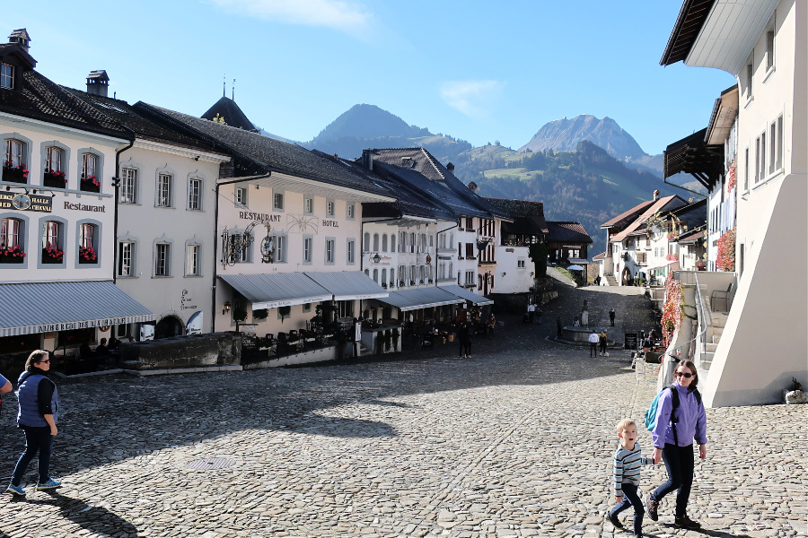 Suisse : Gruyères
