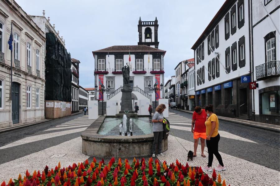 Portugal : VIDEO Açores (Ponte Delgada)
