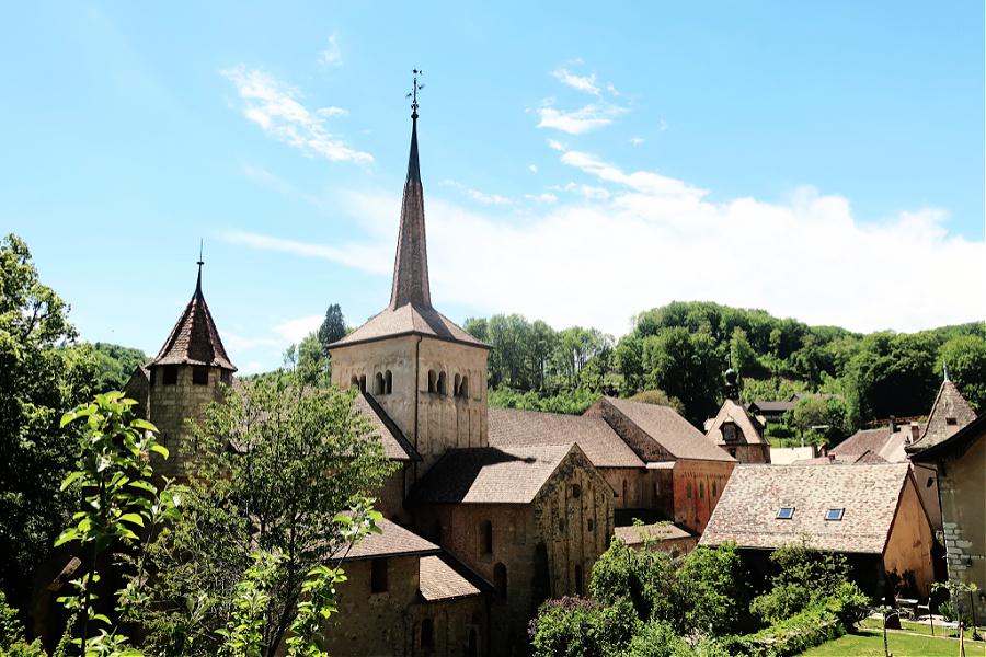 Suisse : Romainmôtier
