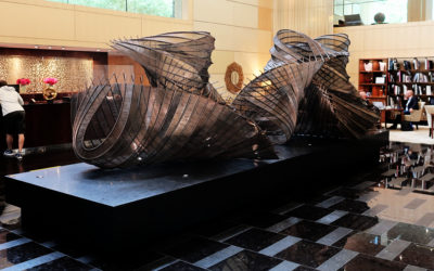 Park Hyatt Zurich : une galerie d'art