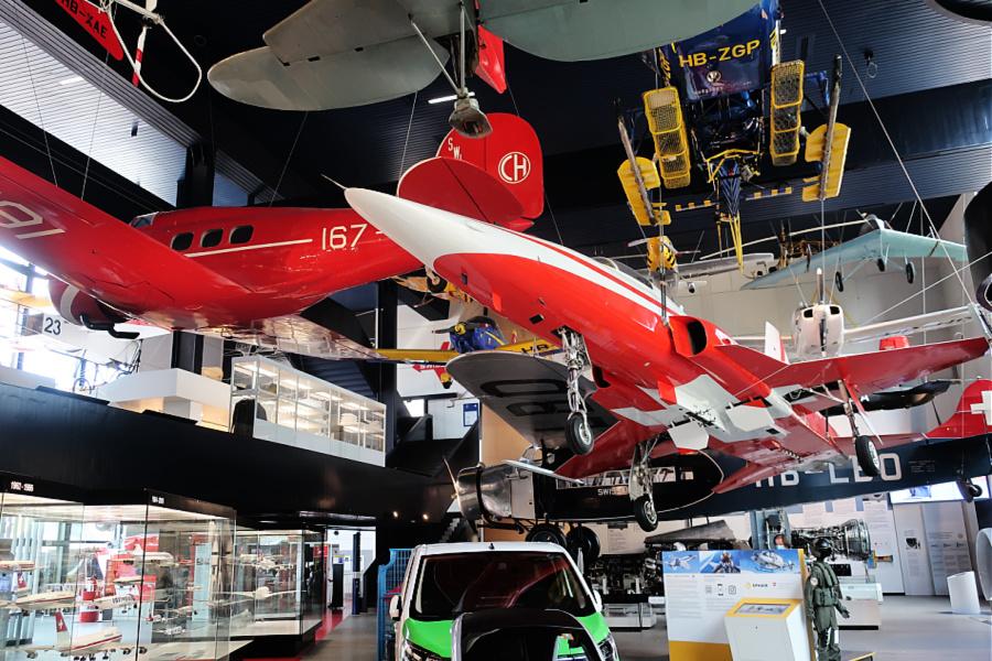 Suisse : VIDEO Musée des Transports (Lucerne)
