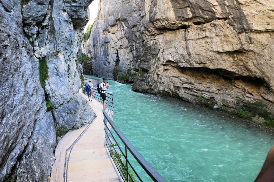 Suisse : VIDEO Gorges de l'Aar